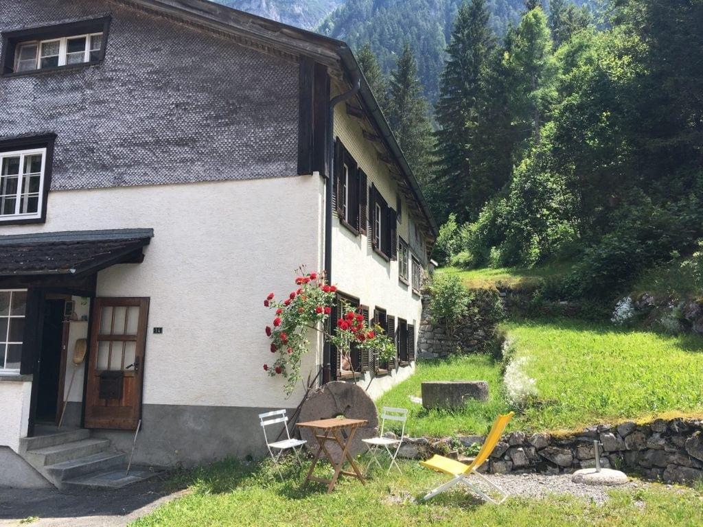 Ferienhaus im Taminatal
